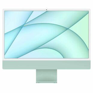 """Apple iMac 24"""" Custom Green (2021) M1 Chip Z14L000UR"""