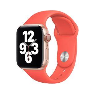 Ремінець Apple Sport Band S   M & M   L Pink Citrus (MYAW2) для Apple Watch 44mm   42mm Series SE   6   5   4   3   2   1
