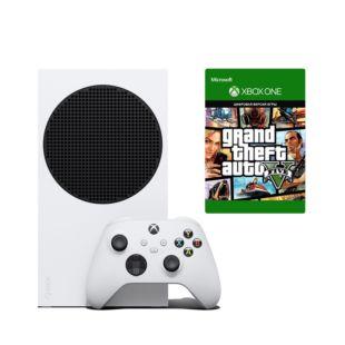 Игровая консоль Microsoft Xbox Series S 512Gb + GTA V (XBOXS512GTA)