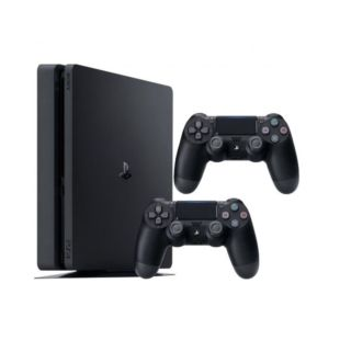 Ігрова консоль Sony PlayStation 4 Slim 1Tb + Геймпад Sony PS4 Dualshock 4 V2 Black (SPS4S1TBDUAL4B)