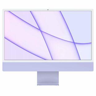"Apple iMac 24"" Custom Purple (2021) M1 Chip Z130000N7"