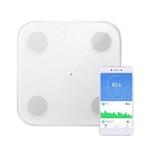 Весы Xiaomi Mi Body Composition Scale 2 White 2nd Gen (4xAAA) (XMTZC05HM) (NUN4048GL/NUN4049CN)