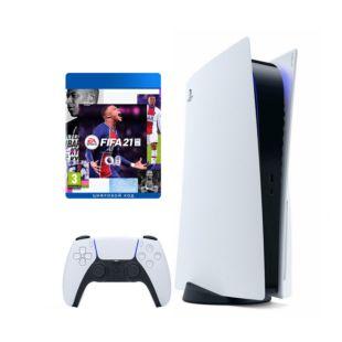 Ігрова консоль Sony PlayStation 5 + FIFA 21 (SPS5FIFA21)