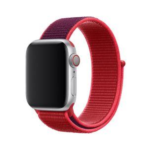 Ремінець Apple Sport Loop Product RED (MXHV2) для Apple Watch 38mm   40mm Series 5   4   3   2   1