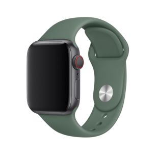 Ремінець Apple Sport Band S   M & M   L Pine Green (MWUR2) для Apple Watch 40mm   38mm Series 5   4   3   2   1