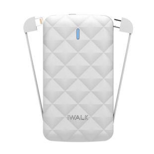 Зовнішній акумулятор iWalk  Duo 3000mAh White UBO3000
