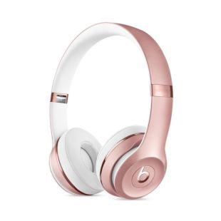 Навушники Beats Audio Solo 3 Wireless On-Ear Headphones Rose Gold (MNET2)