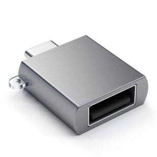 Адаптер Satechi Type-C USB Adapter Space Gray ST-TCUAM