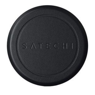 Зарядний пристрій Satechi Magnetic Sticker Black ST-ELMSK