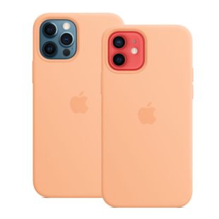 Чехол Apple для iPhone 12 / 12 Pro Silicone Case with MagSafe Cantaloupe Original Assembly