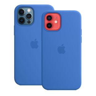 Чехол Apple для iPhone 12 / 12 Pro Silicone Case with MagSafe Capri Blue Original Assembly