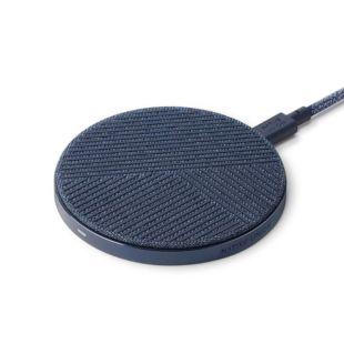 Зарядний пристрій Native Union Drop Wireless Charger Fabric Indigo DROP-IND-FB-V2