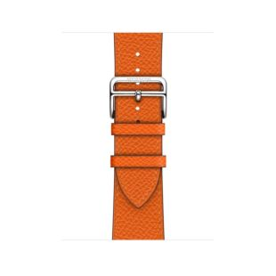 Apple Watch Hermes 40mm Feu Epsom Leather Single Tour MTQ72 [Hermes Feu]
