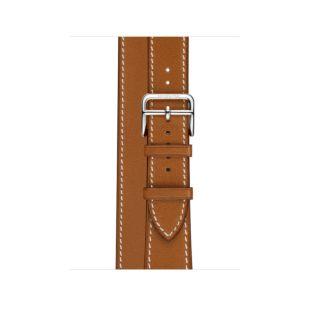 Apple Watch Hermes 40mm Fauve Barenia Leather Double Tour [Hermes Fauve]