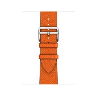 Apple Watch Hermes 44mm Feu Epsom Leather Single Tour MTQA2 [Hermes Feu]