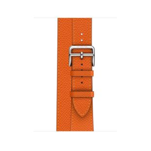 Apple Watch Hermes 40mm Feu Epsom Leather Double Tour MTQ12 [Hermes Feu]