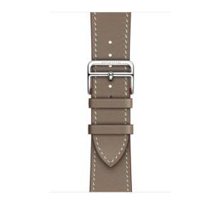 Apple Watch Hermes 44mm Etoupe Swift Leather Single Tour MV7K2 [Hermes Etoupe]
