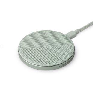 Зарядний пристрій Native Union Drop Wireless Charger Fabric Sage DROP-GRN-FB-NP