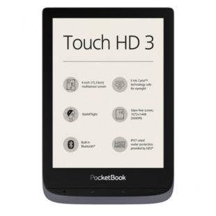 Електронна книга PocketBook 632 Touch HD 3 Gray PB632-J-WW