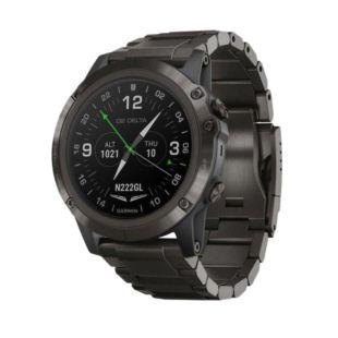 Garmin D2 Delta PX Aviator Watch with Carbon Gray Titanium Band 51mm 010-01989-30