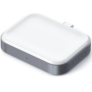 Зарядний пристрій Satechi USB-C Wireless Charging Dock Space Grey for Airpods ST-TCWCDM