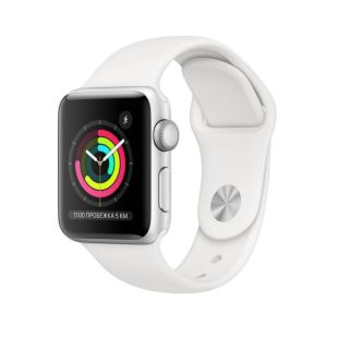 Ремешок Apple Watch SE 42mm / 44mm White Sport Band MJ4M2
