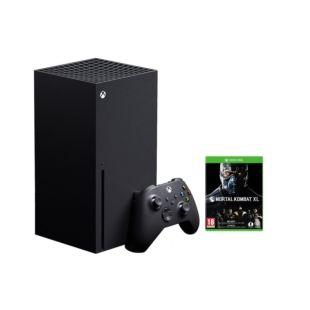 Игровая консоль Microsoft Xbox Series X 1Tb + Mortal Kombat 11 Ultimate + Геймпад Xbox Carbon Black (XBOXSX1TBMKCBB)