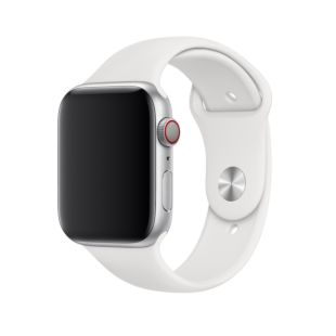 Ремешок Apple Watch SE 44mm / 42mm White Sport Band MTPK2
