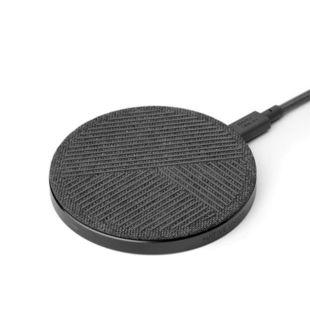 Зарядний пристрій Native Union Drop Wireless Charger Fabric Slate DROP-GRY-FB-V2
