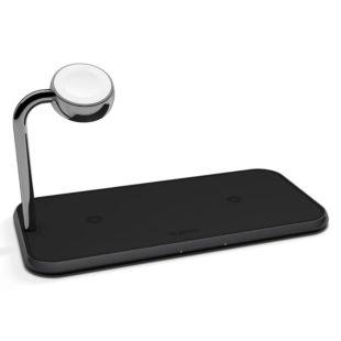 Зарядное устройство Zens Dual /Watch Aluminium Wireless Charger Black ZEDC05B/00