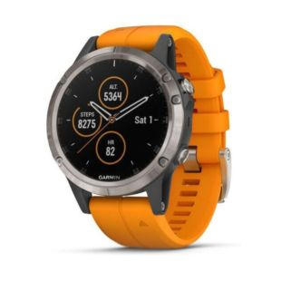 Garmin Fenix 5 Plus Sapphire Orange 010-01988-05