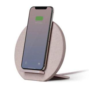 Зарядний пристрій Native Union Dock Wireless Charger Fabric Rose DOCK-WL-FB-ROSE