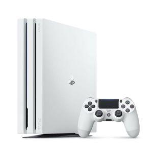Ігрова консоль Sony PlayStation 4 Pro 1Tb White + Геймпад Sony PS4 Dualshock 4 V2 White (SPS4S1TBWDUAL4W)