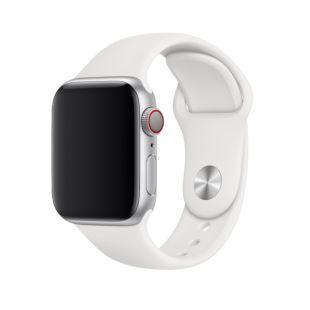Ремінець Apple Sport Band S   M & M   L White (MTP52) для Apple Watch 40mm   38mm Series 5   4   3   2   1