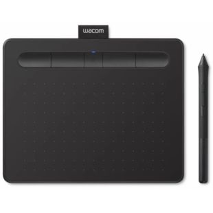 Графический планшет Wacom Intuos S Bluetooth Black