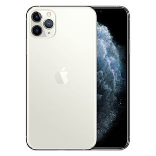 Apple iPhone 11 Pro Max 64GB Silver Dual SIM MWEW2