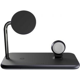 Зарядное устройство Zens Magnetic / Watch Aluminium Wireless Charger Black with 30W USB-C PD Wall Charger ZEDC18B/00