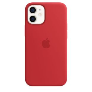 Чохол Apple для iPhone 12 mini Silicone Case with MagSafe (PRODUCT)RED MHKW3 [Red]