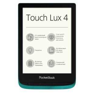 Електронна книга PocketBook 627 Touch Lux4 Emerald PB627-C-CIS